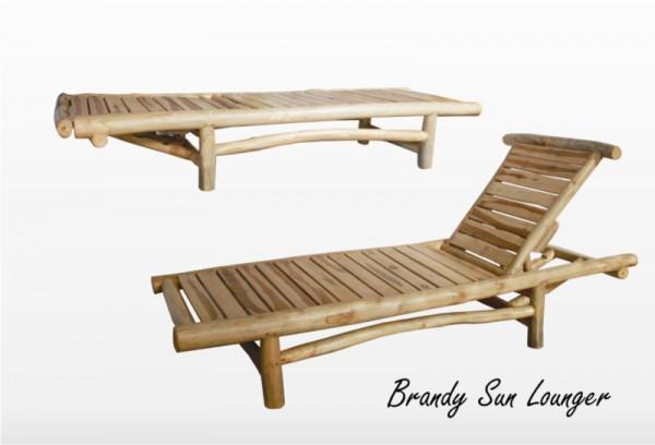 Brandy Sun Lounger