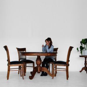Cindy Dining Set with Round Table