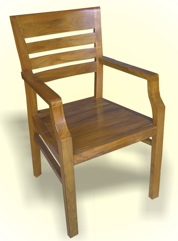 Line Arm Chair