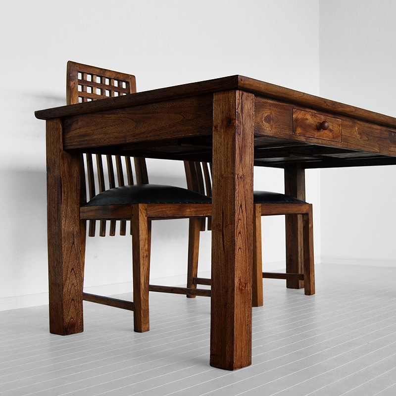 Marijan Dining Table with drawers