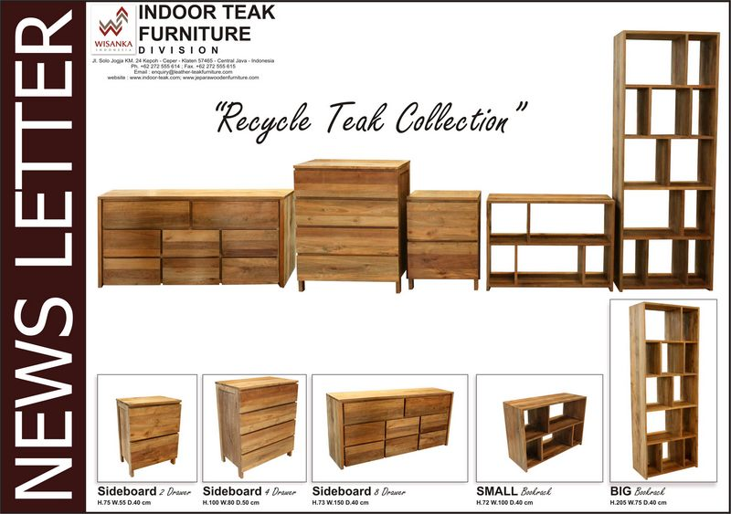 News Letter recycle teak