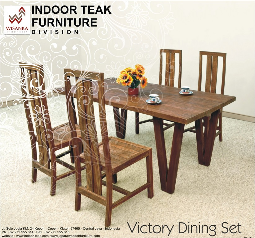 News Letter victory dining set