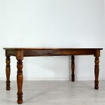 Rafless Dining Table Fluted Legs