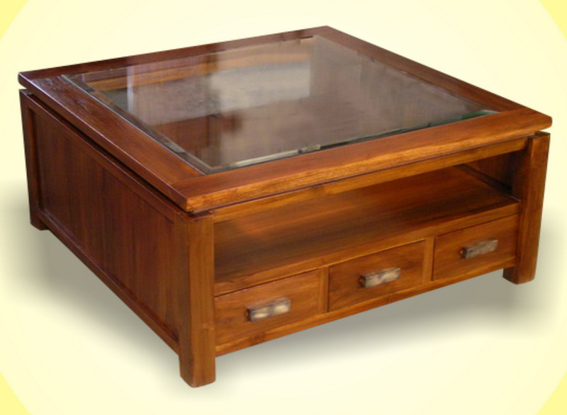 Saka Coffee Table Indoor Teak Furniture