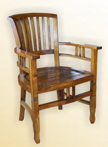 Slat Arm Chair