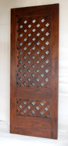 Solid Wooden Door 09