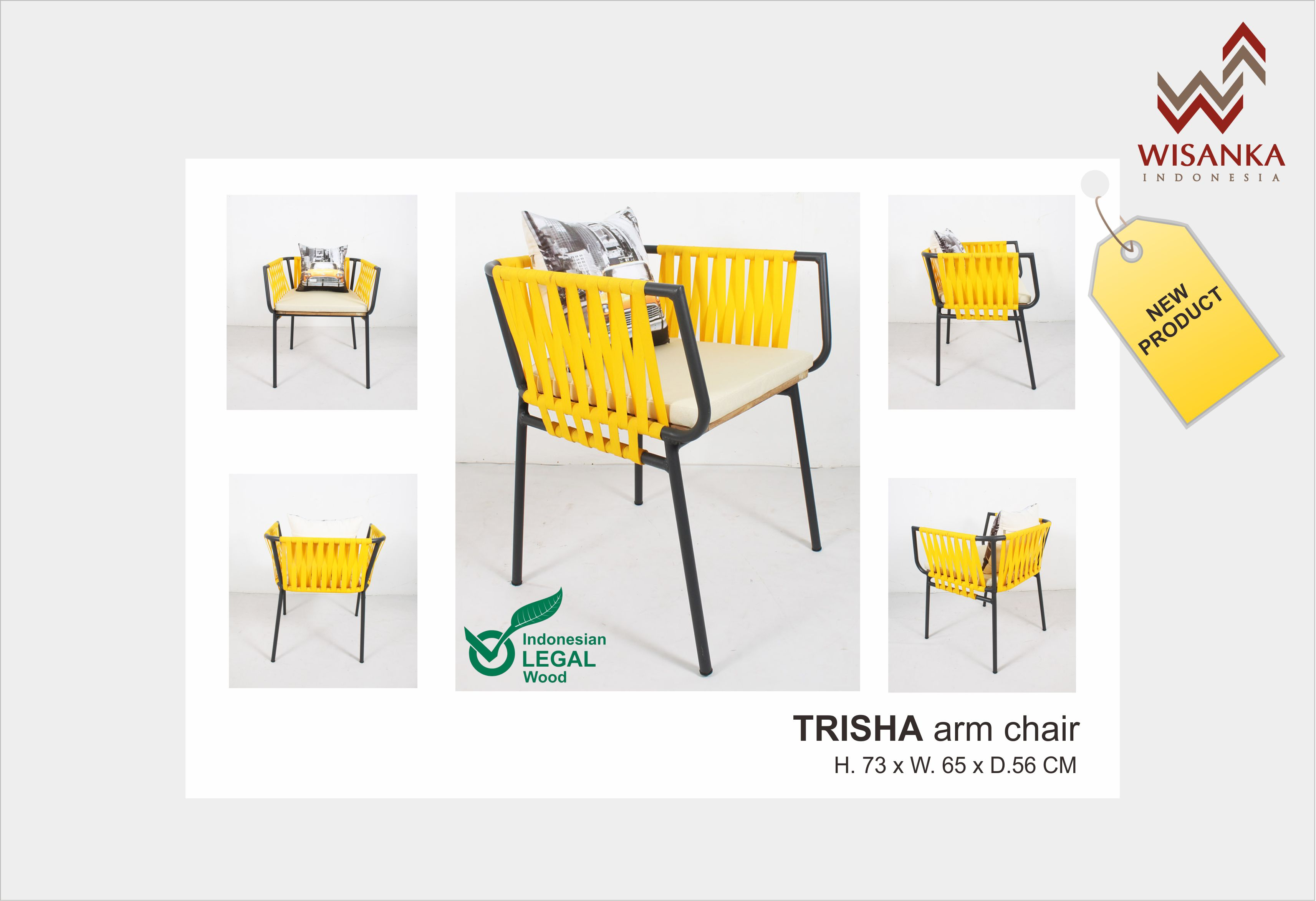 Trisha Arm Chair