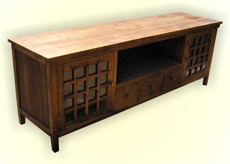 Java Tv Table Indoor Teak Furniture