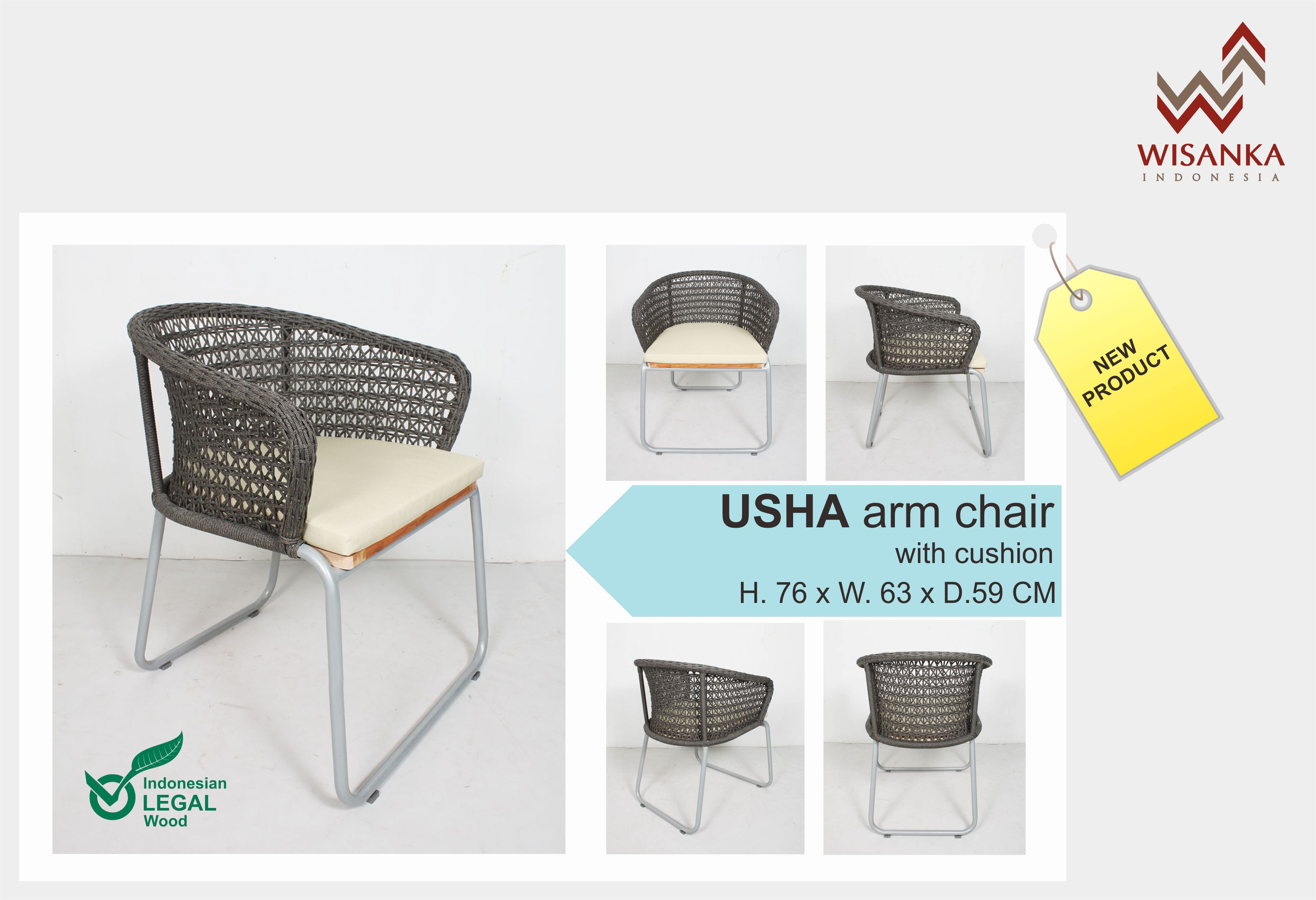 Usha Arm Chair