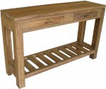 console table 2 drawers