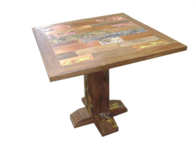 Jakarta bistro table 90x90 indoor teak furniture for Furniture jakarta