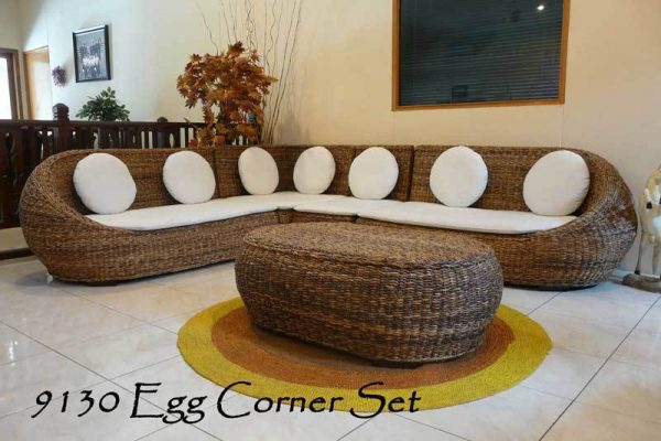 Rattan Living Set Funiture