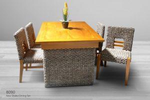 Rattan Dining Set Furniture