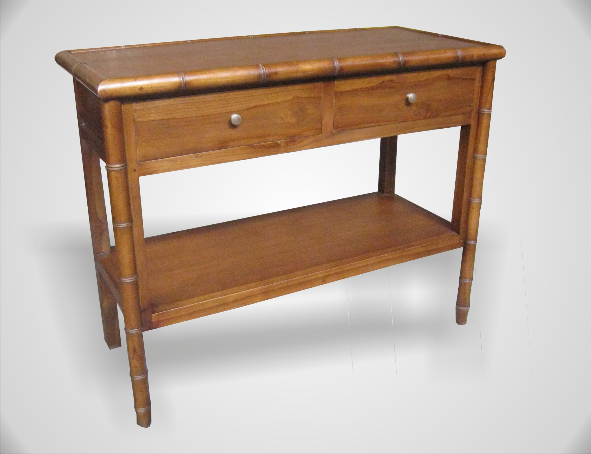 Arabella console table 2 drawer