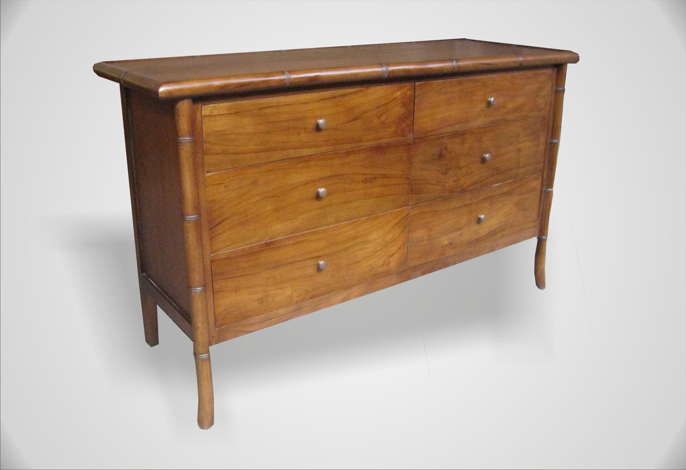 Arinda table 6 drawers | Indoor Teak Furniture