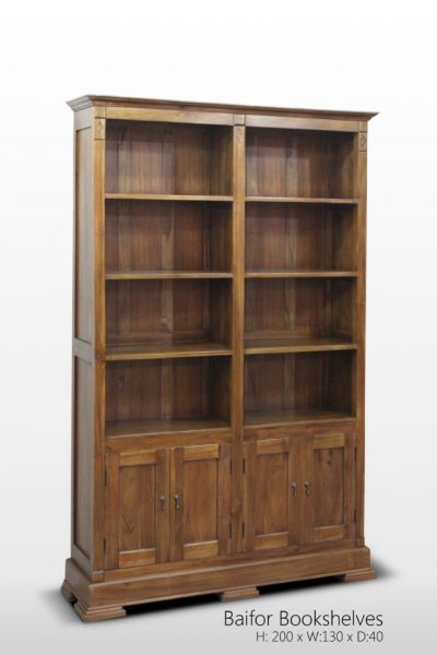 Baifor Bookshelves 200 x 130 x 40