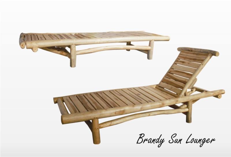 Brandy Sun Lounger