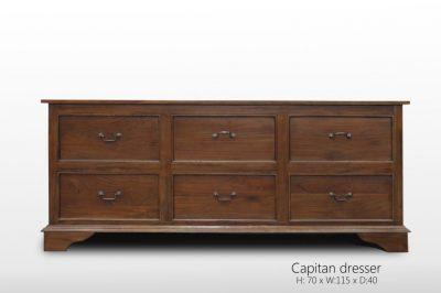 Capitan dresser 75 x 180 x 50