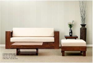 Castelo Wooden Living Set Furniture