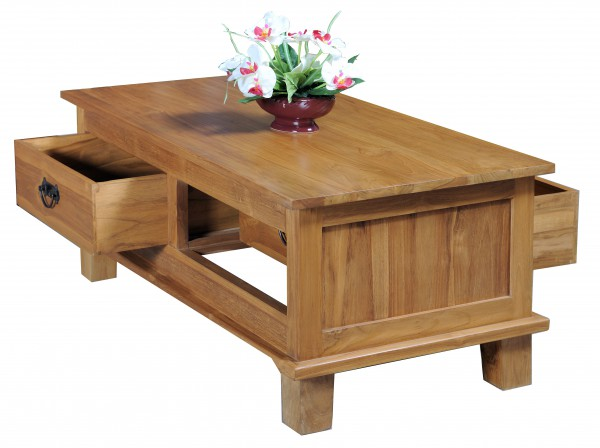 Cecilia Coffee Table Indonesia Furniture Indoor Teak Furniture
