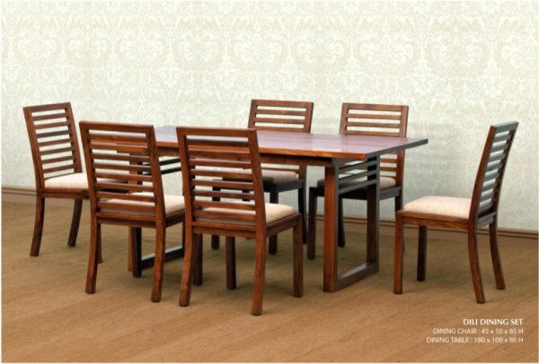 Dili Wooden Dining Set Furniture