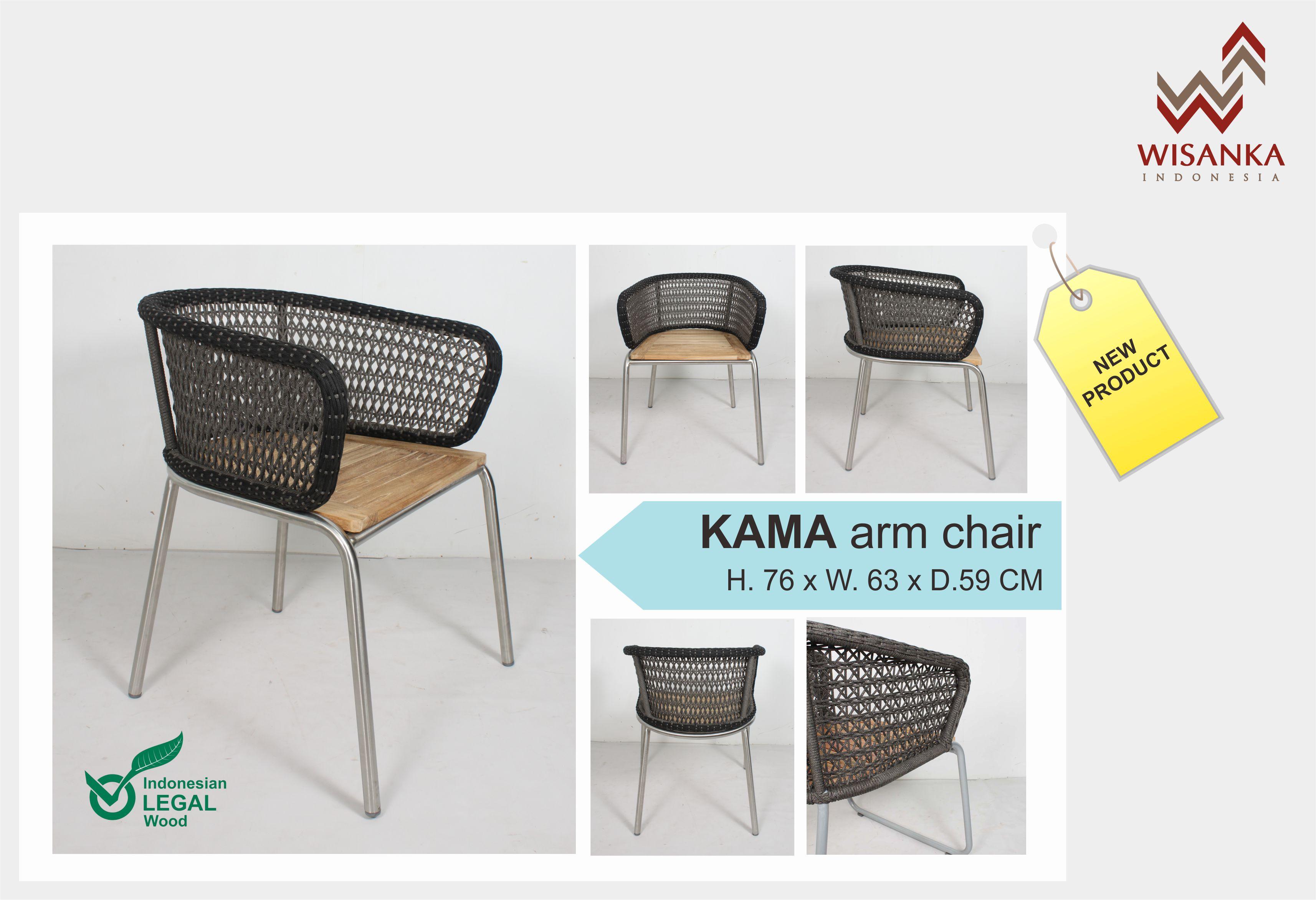 kama arm chair indonesia furniture indoor teak furniture