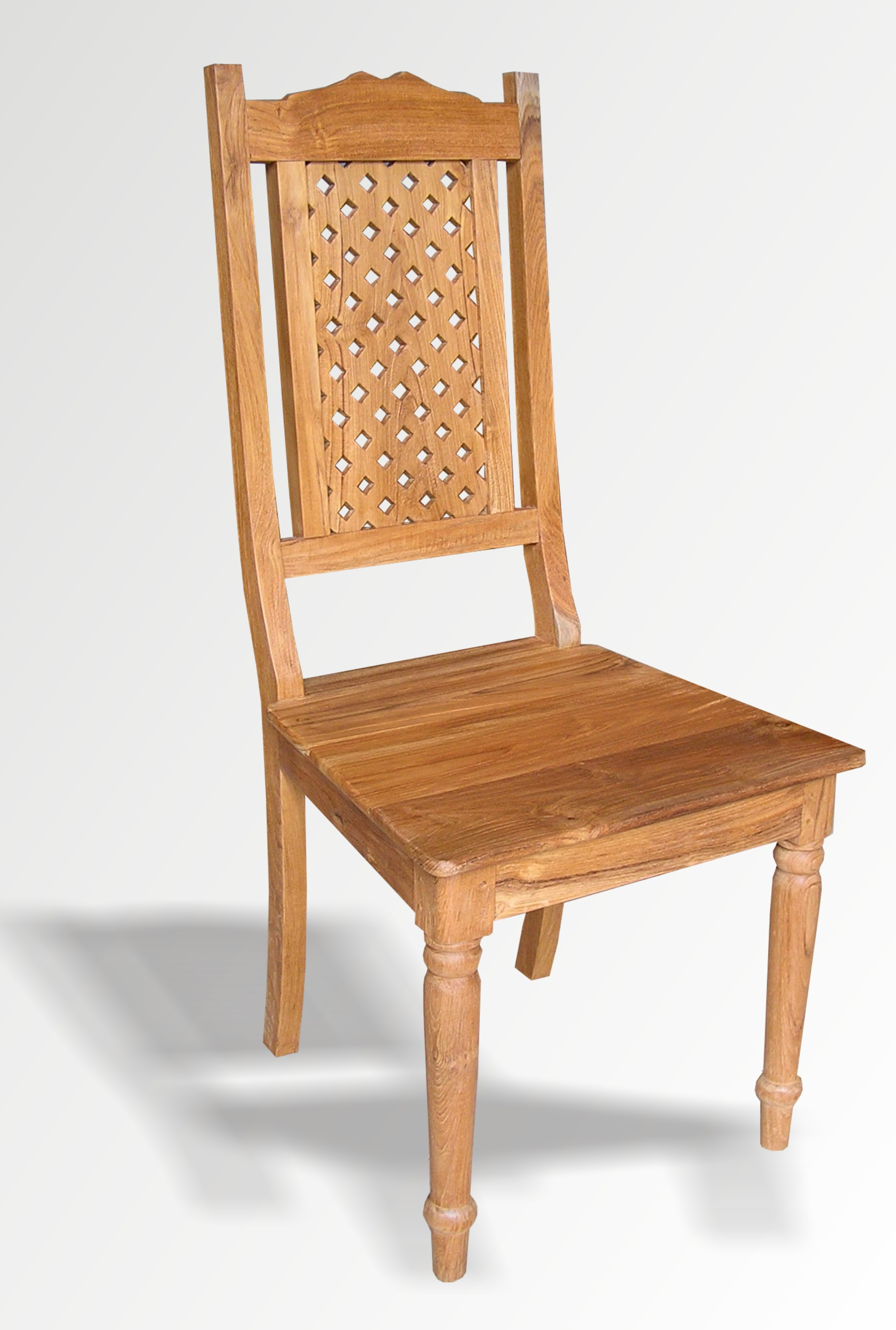 Indonesian Teak Indoor Colonial Chair Page 3 Of 5