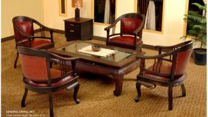 Lenong Wooden Living Set Furniture