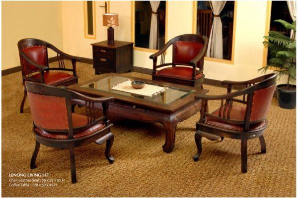 Lenong Wooden Living Set Furniture
