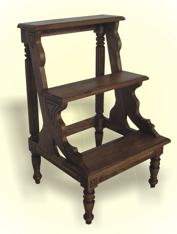 Libary Step Chair