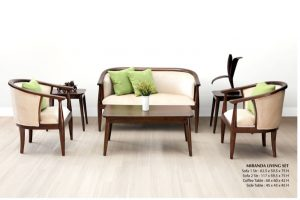 Miranda Wooden Living Set Furniture