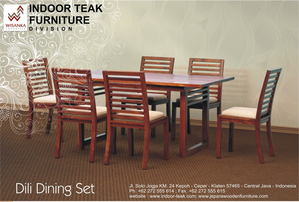 News Letter Dili Dining set