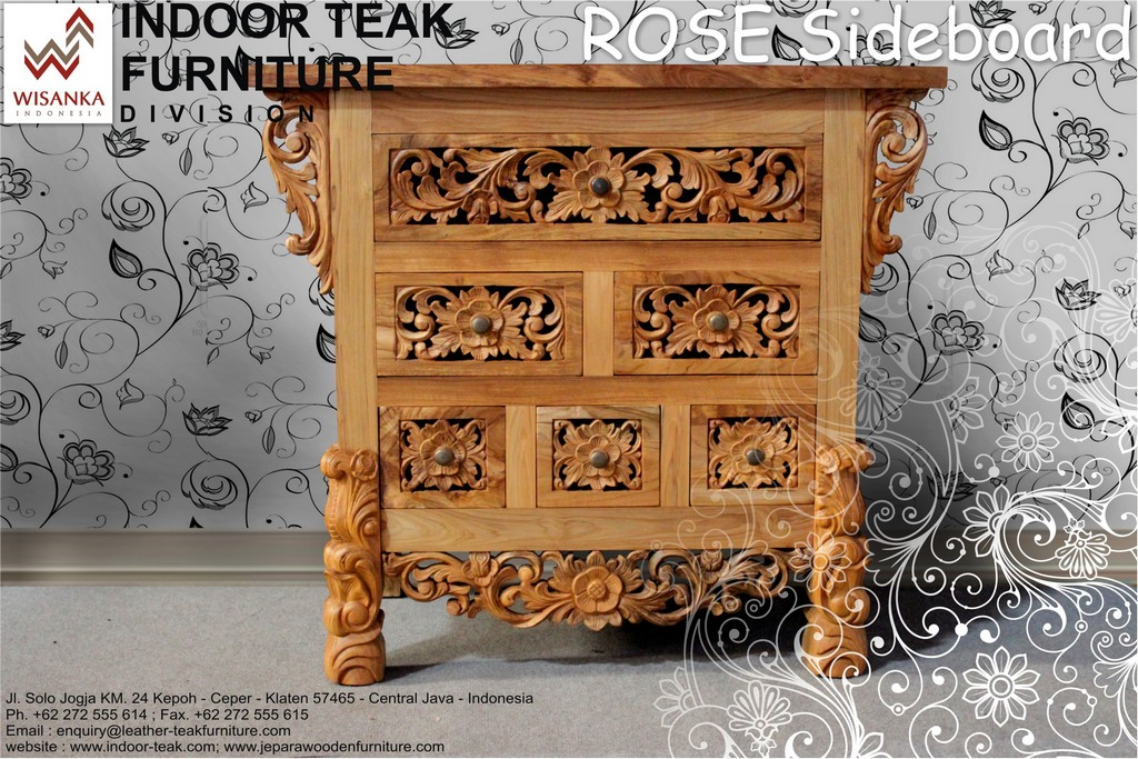 News Letter rose sideboard new
