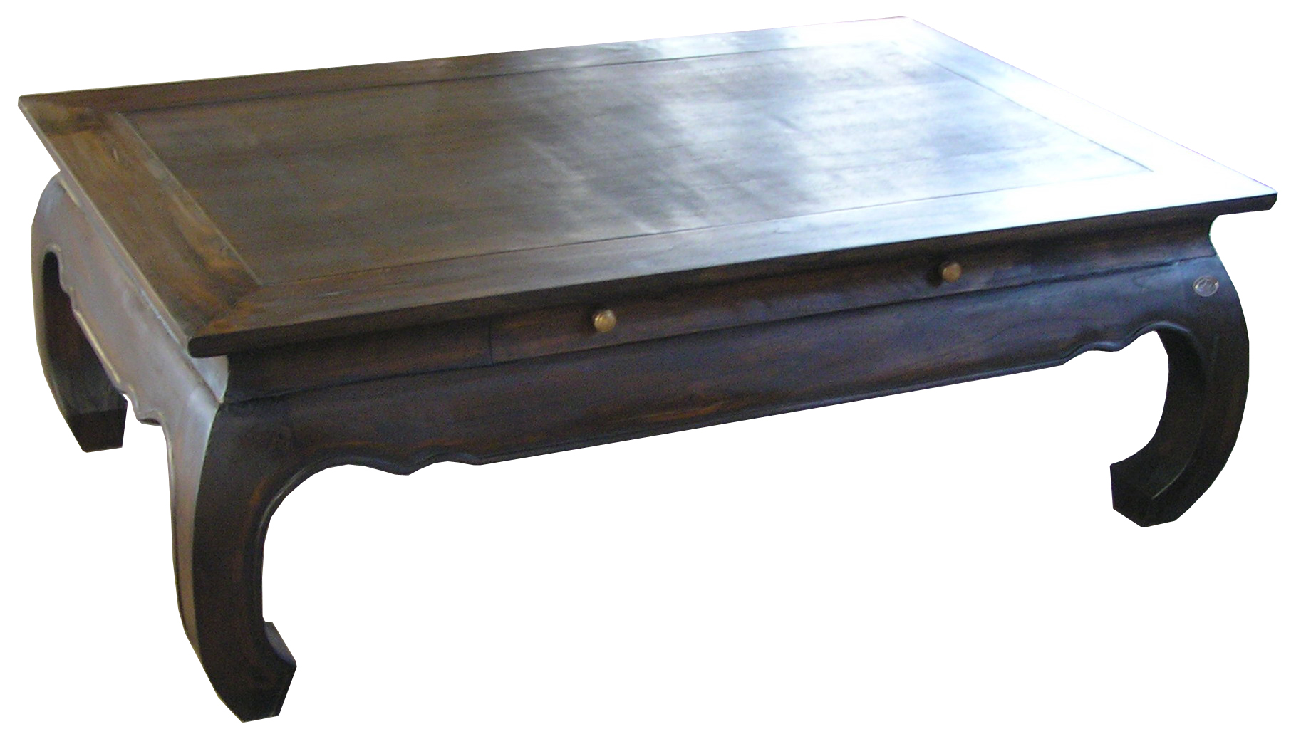 Opium-table-wooden-top