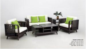 Radio Wooden Living Set Furniture