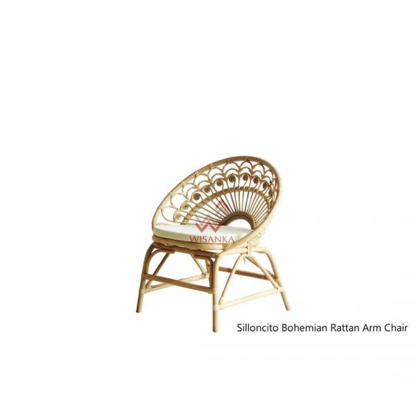 Silloncito rattan arm chair. The one of our best seller product in USA . We prod...