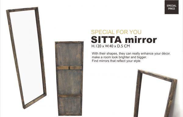 Sitta Teak Colonial Mirror