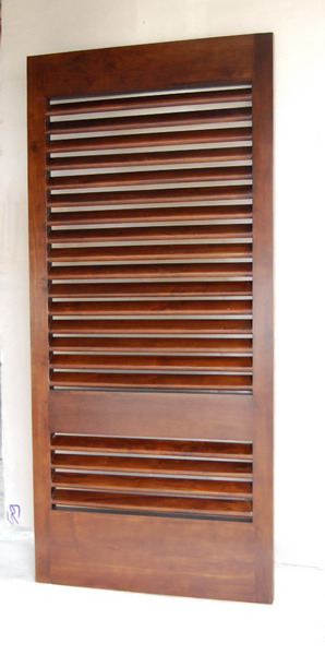Solid Wooden Door 02