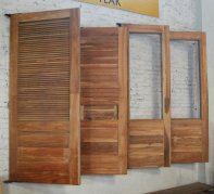 Solid Wooden Door 12