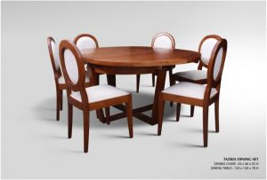 Tazkia Wooden Dining Set Furniture