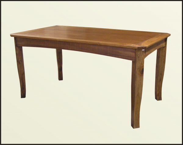 Indonesian Teak Indoor Dining Table   Indoor Teak Furniture