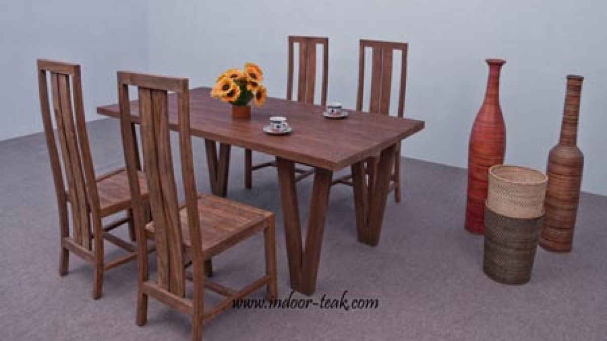 Indoor Teak Dining Table From Indonesia Indoor Teak Furniture
