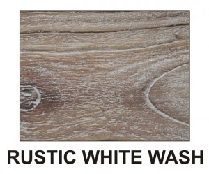 WHITE WASH finish