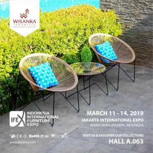 Wisanka Indonesia IFEX 2019 Garden and Terrace Furniture