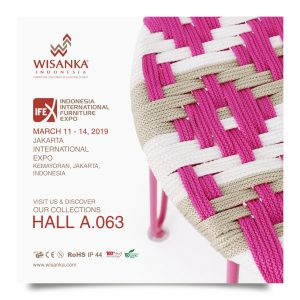 Wisanka Indonesia IFEX 2019 Indoor Rope Furniture