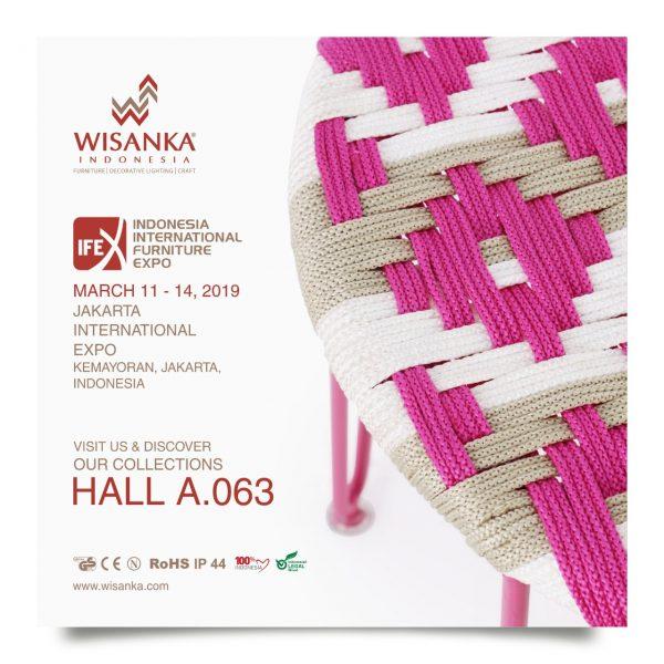 Wisanka Indonesia IFEX 2019 Indoor Rope Furniture