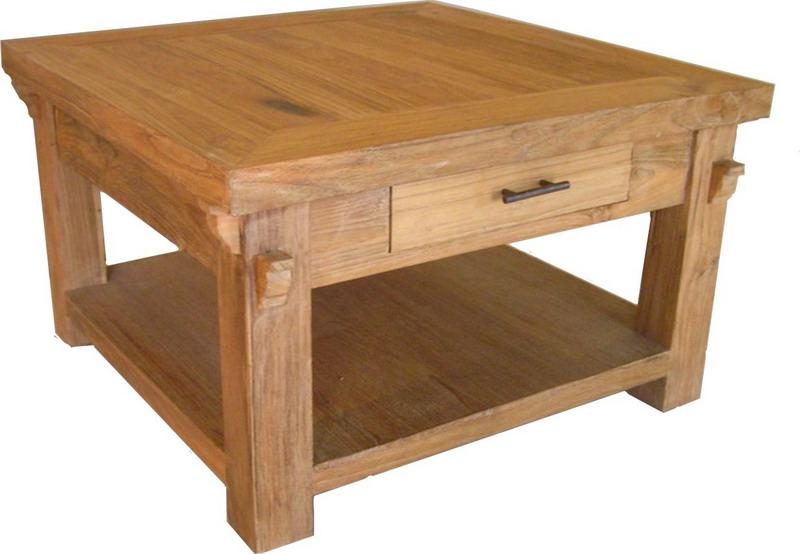 Mohichan Coffee Table | Indoor Teak Furniture
