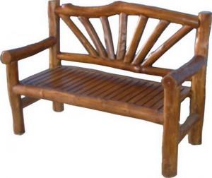 sofa knock down teak brach furniture