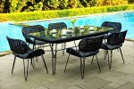 the one of outdoor dining furniture collection of Wisanka. • •  ...